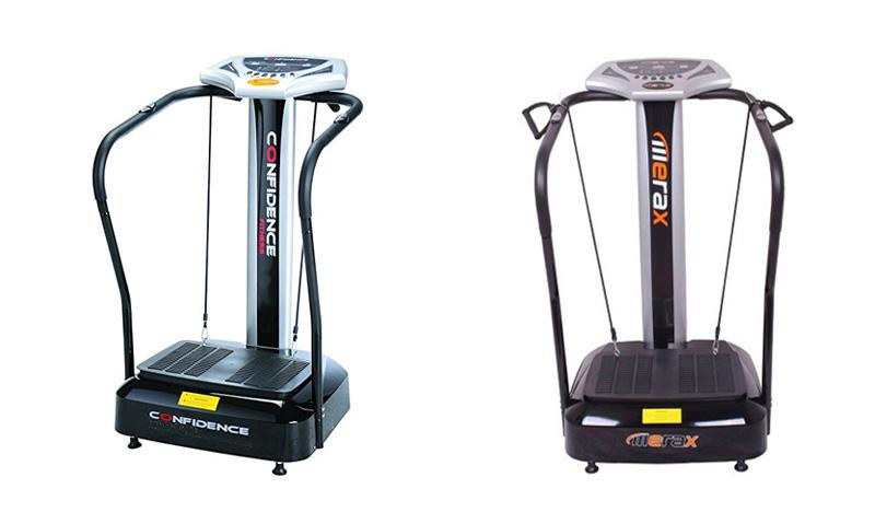 Confidence vs Merax Vibration Machine