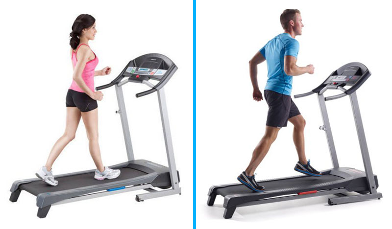 Weslo Cadence R 5.2 vs G 5.9 Treadmill - Comparison