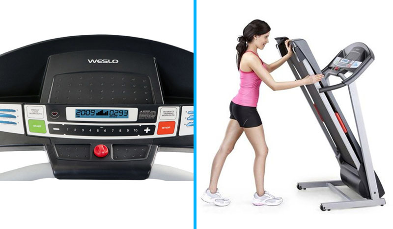 Weslo Cadence R 5.2 vs G-5.9 Treadmill - details