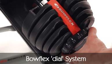 Bowflex Dial System