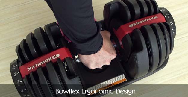 Bowflex Ergonomic Design