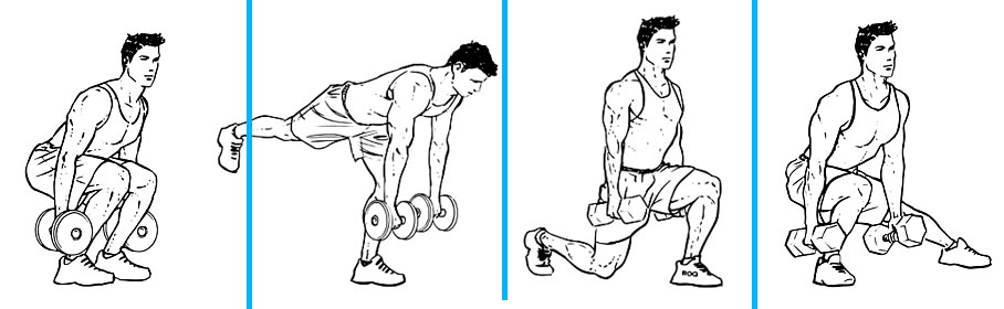 Dumbbell Lower Body Workout