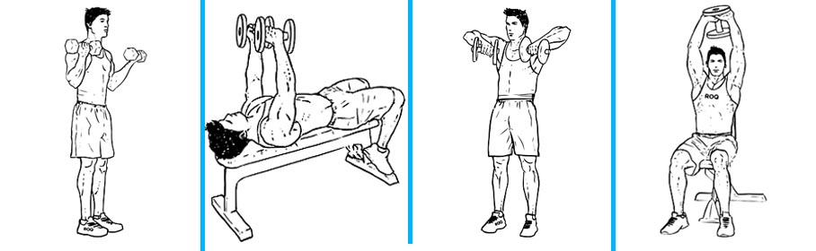 Dumbbell Upper Body Workout