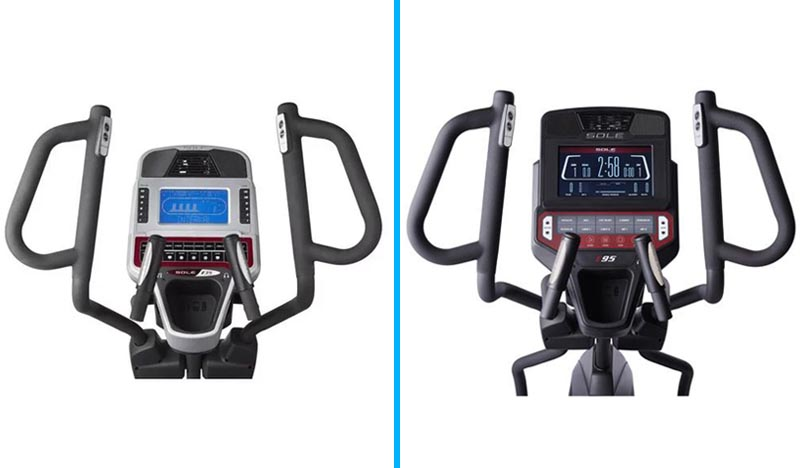 Sole E35 vs E95 Comparison - Details