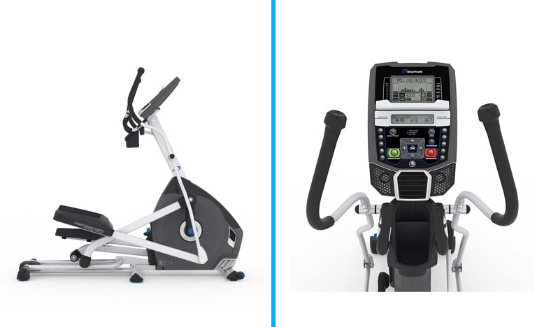 best elliptical under 1000 - Nautilus E614