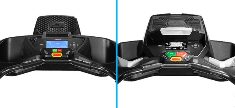 Bowflex TreadClimber TC100 vs TC200 - Console