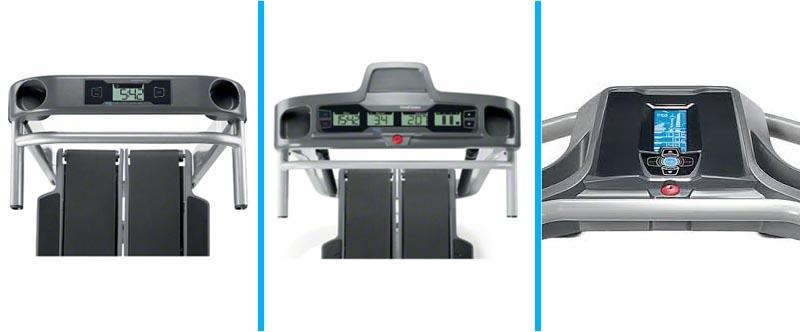 Bowflex TreadClimber TC5 vs TC10 vs TC20 Console
