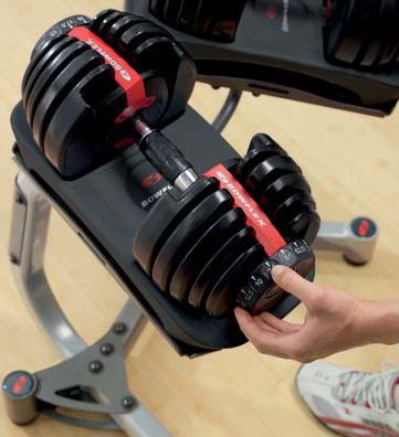 bowflex 552 weight distribution system