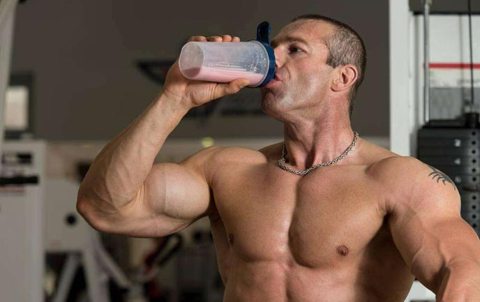 Muscle building of Whey Protein
