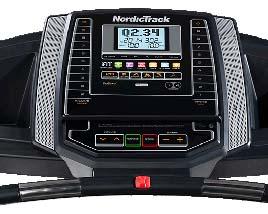 NordicTrack T 6.5 S Treadmill - Console