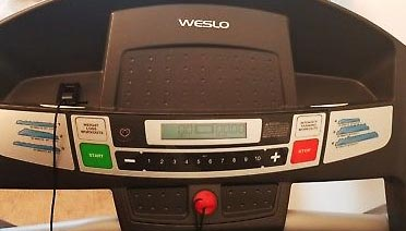 Weslo Cadence R 5.2 Treadmill - Display