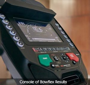 Console of Bowflex Results