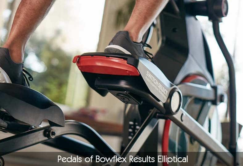 Pedals of Bowflex Results Elliptical