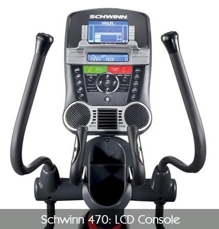Schwinn A470 Console