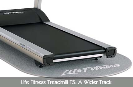 Life Fitness Treadmill T5 Track