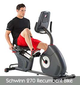 Schwinn 270 Recumbent Bike Features