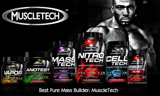 Best Pure Mass Builder MuscleTech