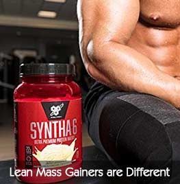 Lean Mass Gainers are Different