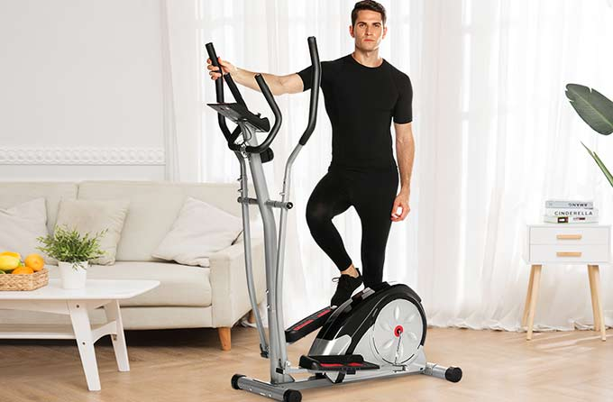 Best for Larger Users - ANCHEER Elliptical
