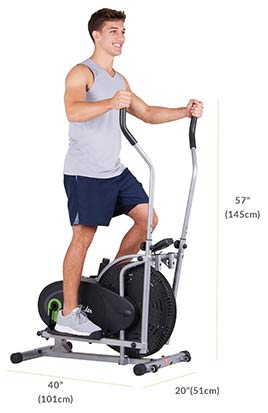 Body Rider Fan Elliptical Trainer