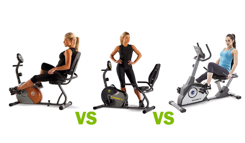 Marcy ME-709 vs NS-716R vs NS-40502R Recumbent Bike