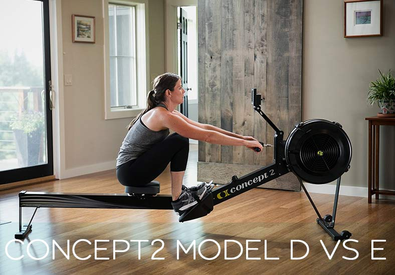 Concept2 Model D VS E Rowing Machine