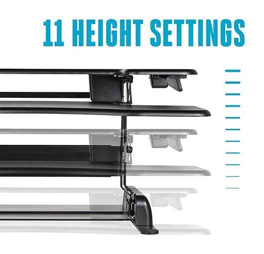 Varidesk - 11 different height settings