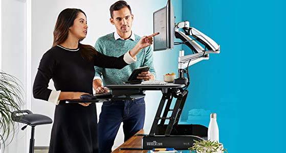 Varidesk Height-Adjustable Standing Desk