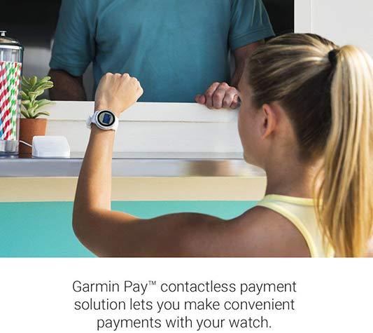 Garmin Vivoactive 3 - Contactless Payments