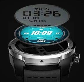 TicWatch Pro Dual Display Design