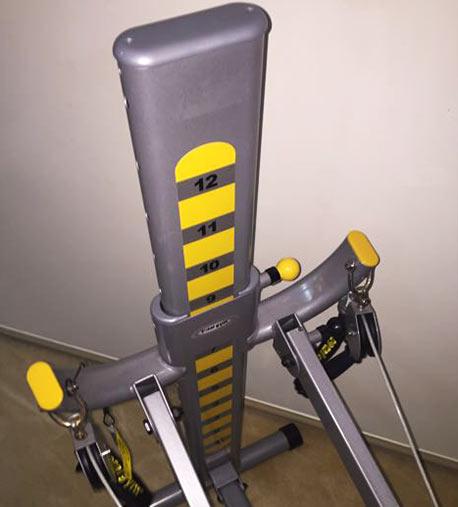 total gym fit 12 resistance levels