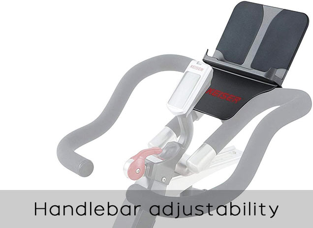 Keiser Handlebar adjustability