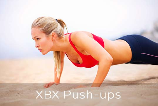 10 XBX exercises - Push ups