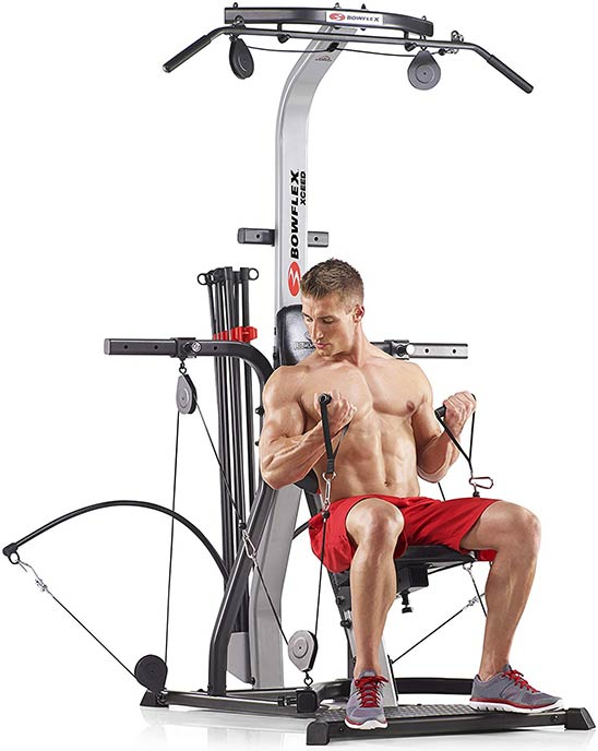 Bowflex Xceed Home Gym Focus Areas