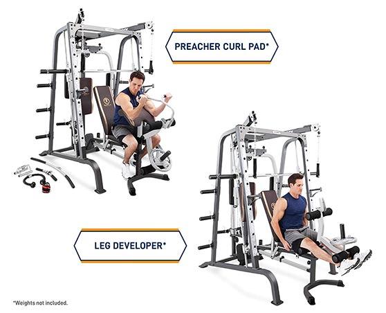 Diamond Elite Smith Machine MD 9010G exercises