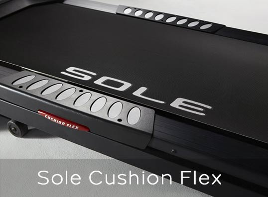Sole Treadmills Cushion Flex System
