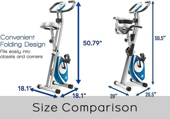 XTERRA FB150 and FB350 Size Comparison