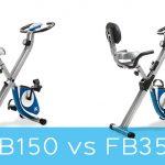 XTERRA Fitness FB150 vs FB350 Folding Bike
