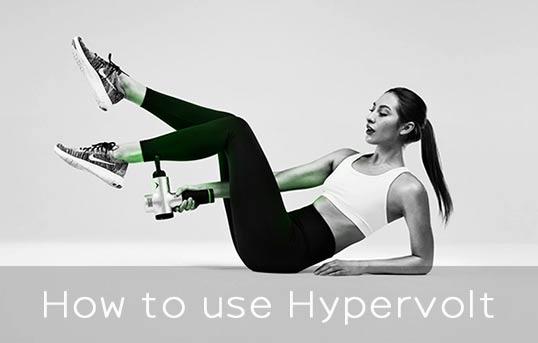 How to use Hypervolt