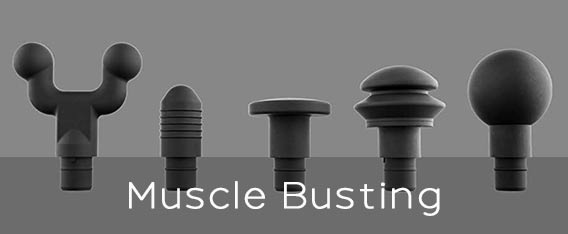 Hypervolt muscle busting attachments