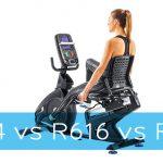 Nautilus R614 vs R616 vs R618 Recumbent Bike
