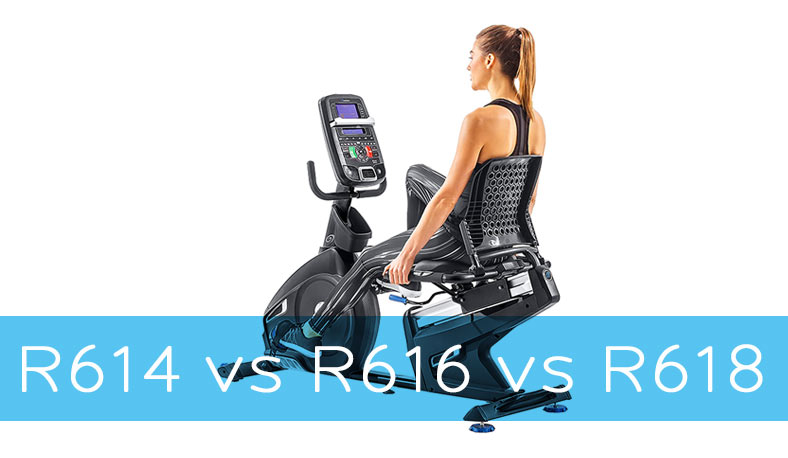 Nautilus R614 vs R616 vs R618 Recumbent Bike