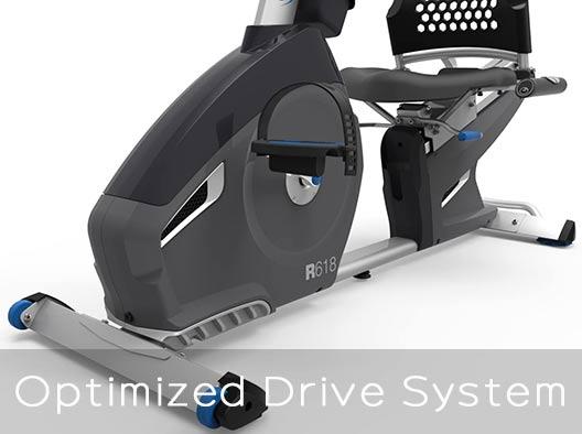 Nautilus R618 Optimized drive system