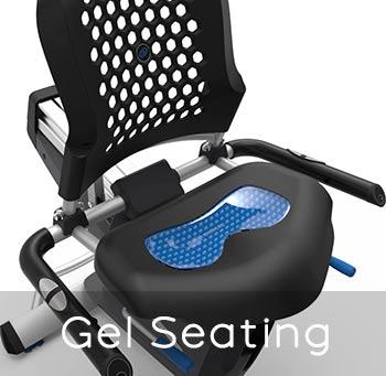 Nautilus R618 gel seating