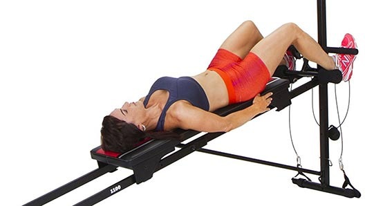 Total Gym Workouts Jackknife sit-up