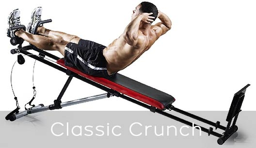 Total Gym Workouts classic crunch