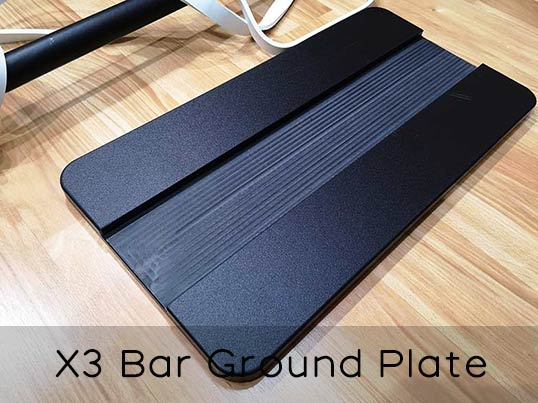 X3 Bar Ground Plate