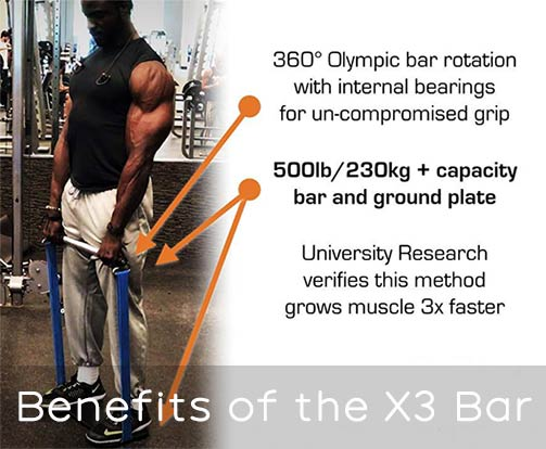 benefits of the X3 Bar