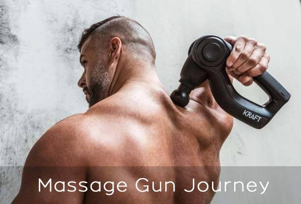massage gun journey