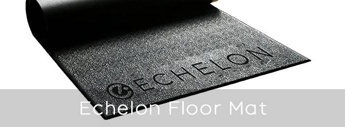 Echelon floor mat